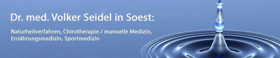 Dr. med. Volker Seidel  in Soest:
